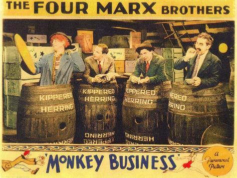 Monkey Business, 1931 Art Print