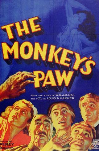 Monkey's Paw Masterprint