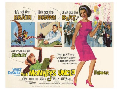 Monkeys Uncle, 1965 Art Print