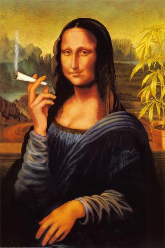 Monna Lisa - Canna Poster