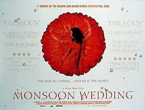 Monsoon Wedding Original Poster