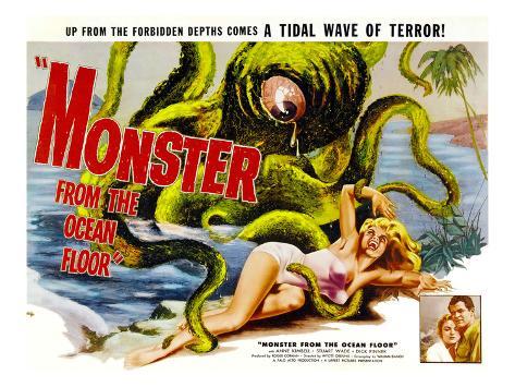 Monster From the Ocean Floor, Anne Kimbell, Stuart Wade, 1954 Photo