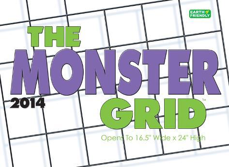 Monster Grid - 2014 Deluxe Calendar Calendars