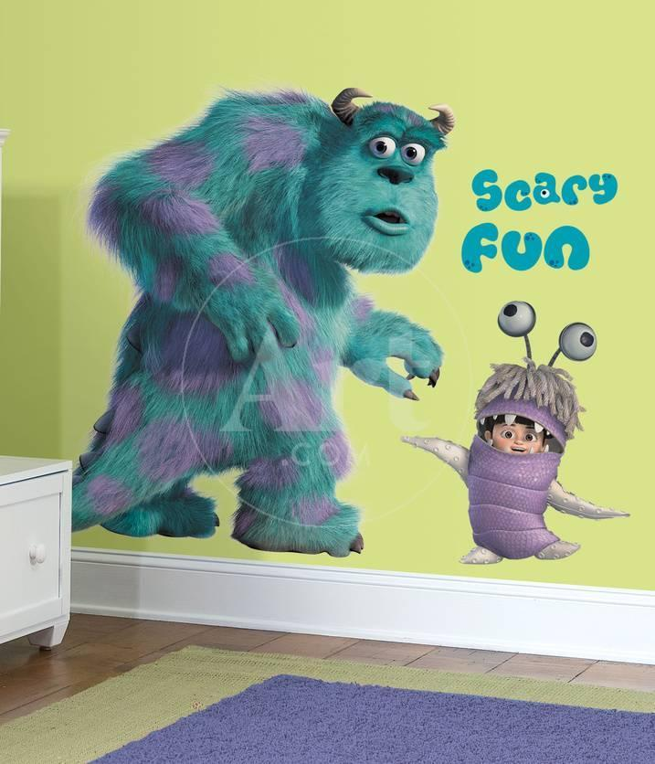 Monsters Inc Giant Sully & Boo Peel & Stick Wall Decals Wall Decal ...