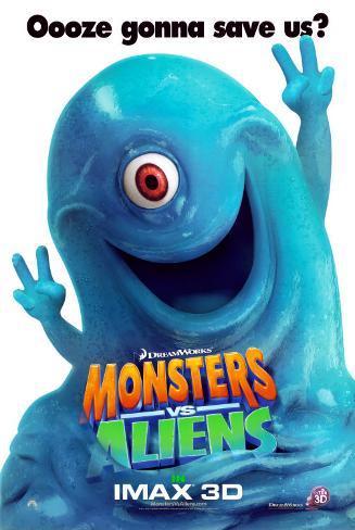Monsters Vs Aliens Posters Allposters Co Uk
