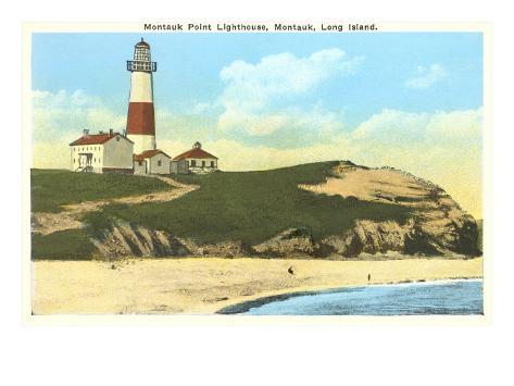 Montauk point lighthouse long island new york posters for Custom t shirts long island ny