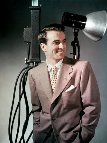 Montgomery Clift, 1940s Photo