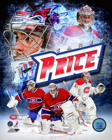 Montreal Canadiens - Carey Price 2011 Portrait Plus Photo