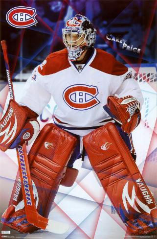 Montreal Canadiens - Carey Price Poster