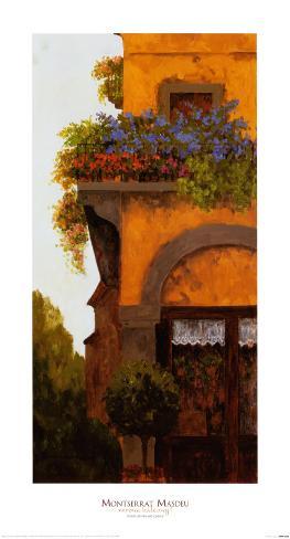 Verona Balcony I Art Print