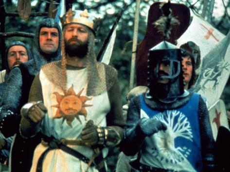 Monty Python And The Holy Grail, 1975 Photo