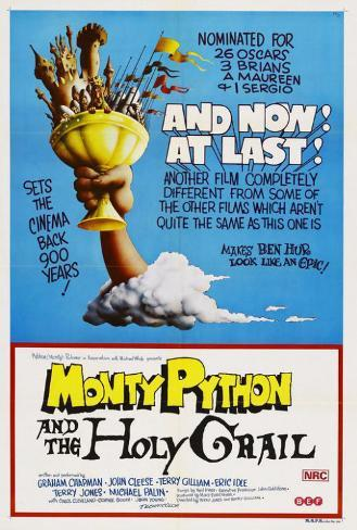 Monty Python and the Holy Grail - Australian Style Poster