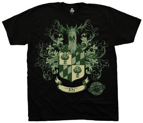 Monty Python- Knights Of Ni Crest Camiseta