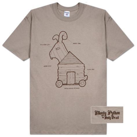 Monty Python - Rabbit Plans Camiseta