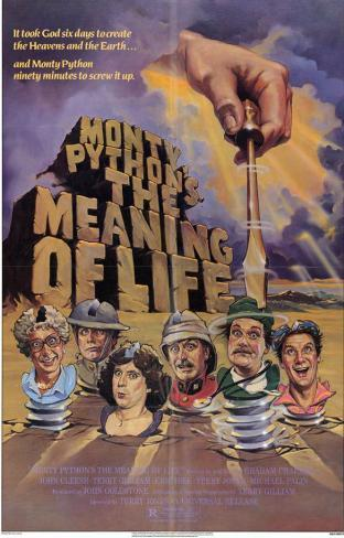 Monty Python's The Meaning of Life Masterprint