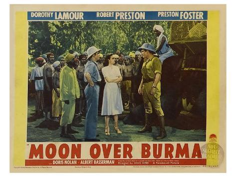 Moon Over Burma, 1940 Stretched Canvas Print