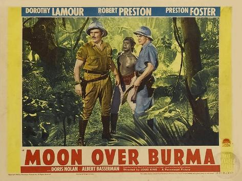 Moon Over Burma, 1940 Art Print