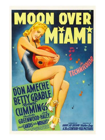 Moon over Miami, Betty Grable, 1941 写真
