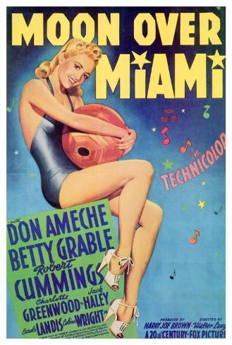 Moon Over Miami Poster