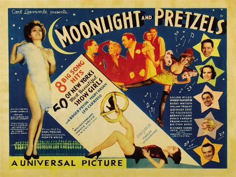 Moonlight and Pretzels, 1933 Art Print