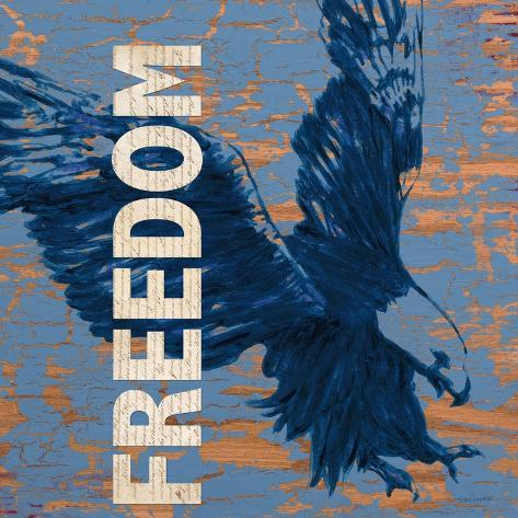 Freedom Reigns Art Print