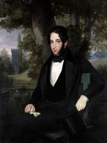 Marriage Portrait of Lionel Nathan Rothschild, 1836 Giclee Print