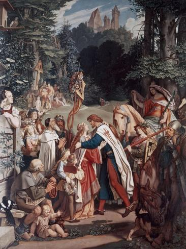 Taking Farewell For the Crusades Giclee Print