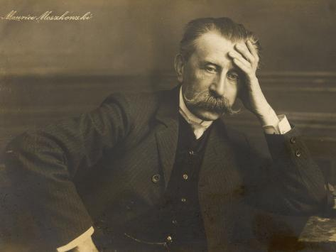 Moritz Moszkowski German Pianist and Composer Photographic Print