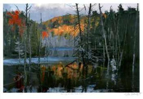 Morning at Bear Creek Pond Limited Edition