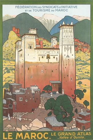 Morocco Travel Poster Posters - AllPosters.co.uk