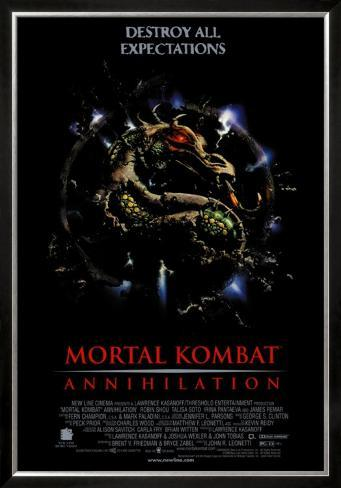 Mortal Kombat Framed Poster