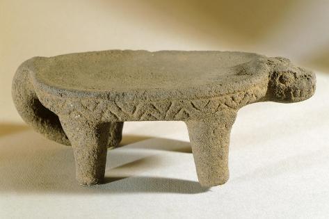 Mortar Originating from Chiriqui Giclee Print