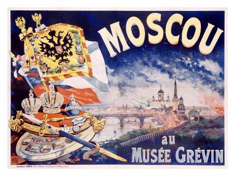 Moscou Giclee Print