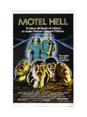 Motel Hell, Nancy Parsons, Rory Calhoun, 1980 Photo