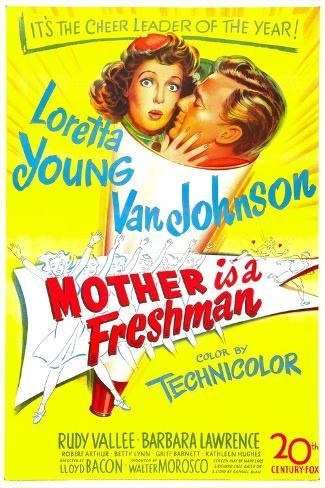 Mother Is a Freshman Art Print