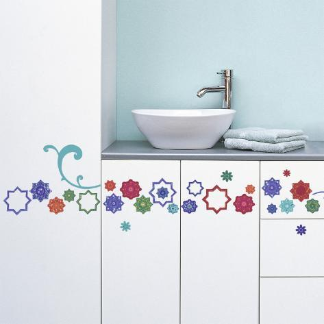 Motif Zellige (Water Resistant Decal) Wall Decal