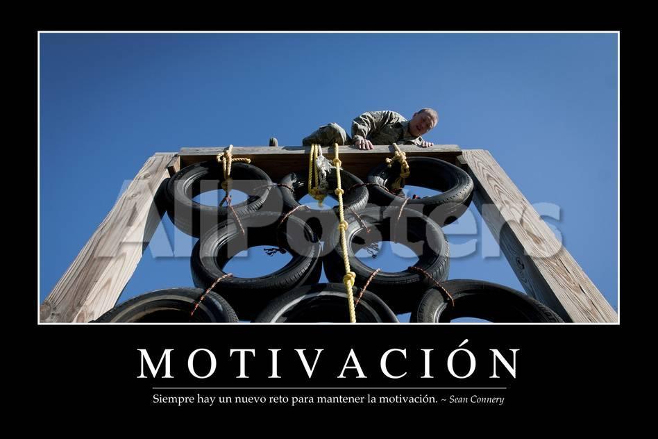 Motivación. Cita Inspiradora Y Póster Motivacional Lámina ...