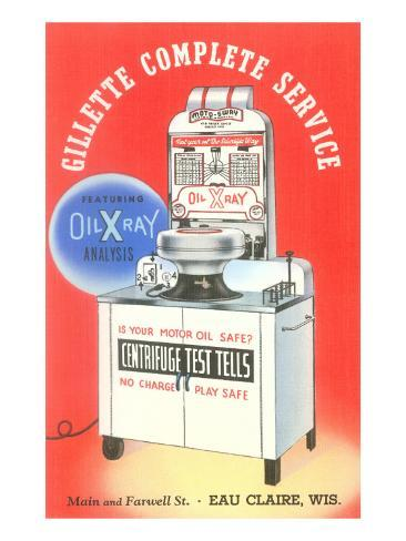 Motor Oil Testing Machine Posters At