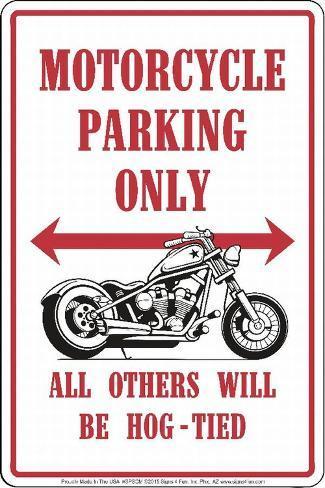 Motorcycles Tin Sign
