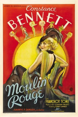 Moulin Rouge, 1934, Directed by Sidney Lanfield Giclee Print