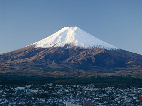 Mount Fuji, Honshu, Japan Photographic Print