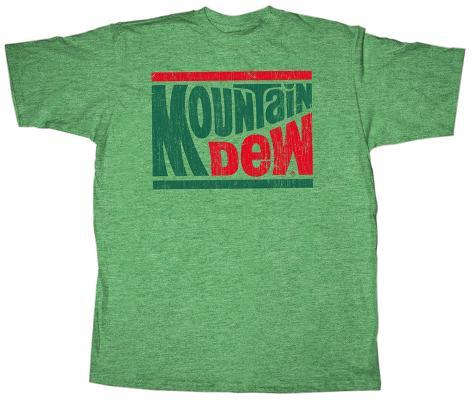 Mountain Dew - Mountain Logo T-Shirt