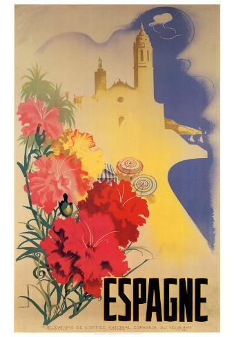 Espagne Art Print
