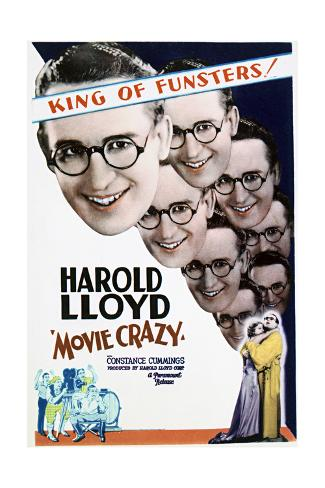 Movie Crazy - Movie Poster Reproduction Art Print