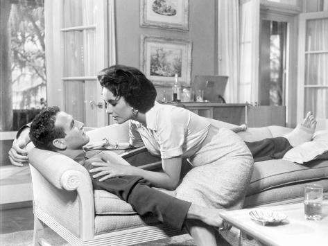 A scene from Cat on a Hot Tin Roof Foto