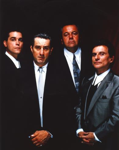 Along with Robert Deniro Black Background Group Picture Photo