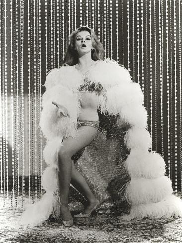 Ann Margret wearing a Fur Coat in Classic Photo
