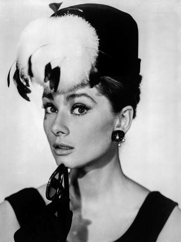 Audrey Hepburn Breakfast at Tiffany's Feather Hat Photo