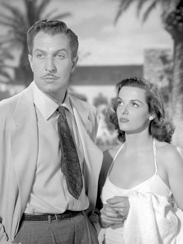 Classic Portrait of the Movie Las Vegas Story in Couple Portrait Photo