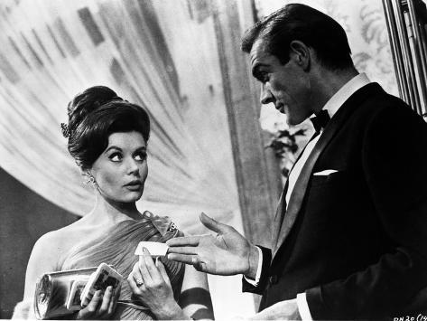 Doctor No Couple Scene in Classic Photo
